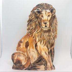 NINAS ARK- Lion vase ceramic